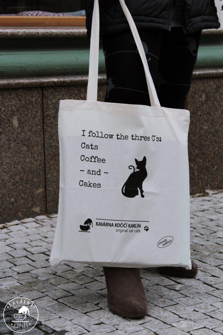 Látková taška kočičí