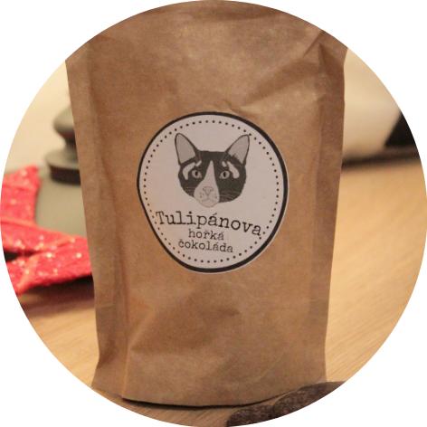 vánoční čokoláda kavárna kočičí